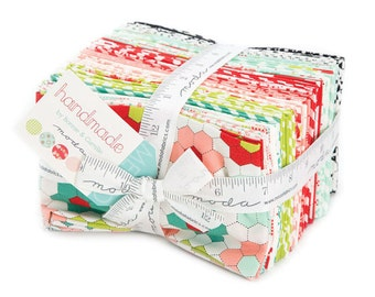 Handmade fat eighths Bundle by Bonnie and Camille - Moda