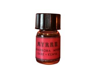 Myrrh Essential Oil, Dark, Commiphora myrrha, Kenya - 5/8 dram