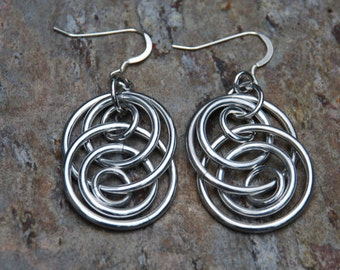 Illusion Hoop Earrings