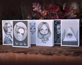 Set of 6 Notecards
