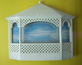 Homco Gazebo Wall Planter, Home interiors, Burwood Products, Gazebo, Wall Planter, Wedding Gazebo