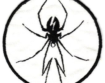 My Chemical Romance Danger Days Spider Embroidered Patch