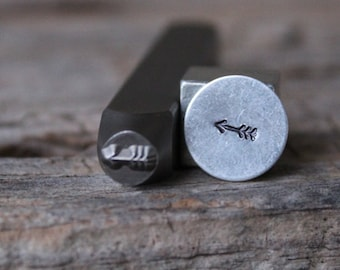 Arrow Stamp-5mm Size-Steel Stamp-New Metal Design Stamps-by Metal Supply Chick-DCH64
