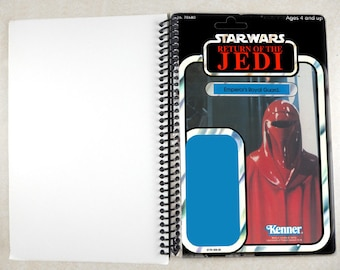 Emperor's Royal Guard Recycled Vintage Star Wars ROTJ Notebook/Journal