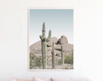 Desert Printable, Cactus Downloadable Wall Art, Desert Cactus Download, Printable Wall Art, Desert Art Print, Southwestern Boho Decor de8c2p