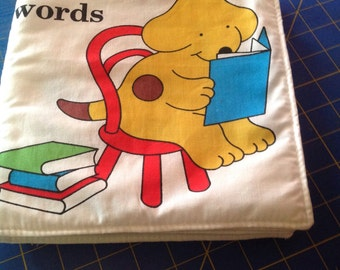 Spot Can Read cloth book