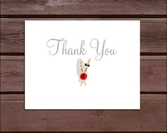 25 Baseball Wedding Thank You Notes