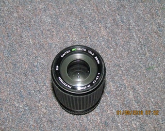 Saitex MC Auto Zoom  1:3.8/4.8 70-200mm Lens  GREAT SHAPE!