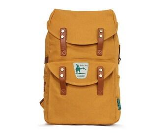 Mens Canvas Backpack Unisex School College Bag Laptop Rucksack 1017
