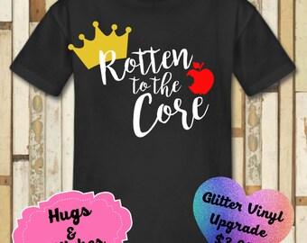 Rotten To The Core Disney Shirt