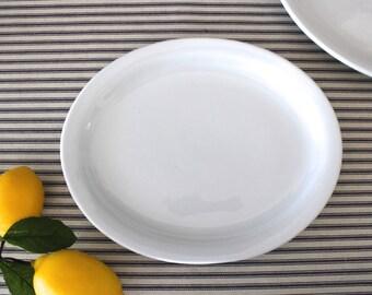 Restaurant Ware China Mini-Platter . Ironstone Plate . White Dishes . Modern Farmhouse Kitchen Decor . Fixer Upper . Food Prop . Buffalo