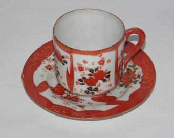 Tea Cup and Saucer - Japanese - Tashiro Shoten Ltd.