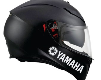 Yamaha Decal Etsy - Vinyl decals for motorcycle helmets