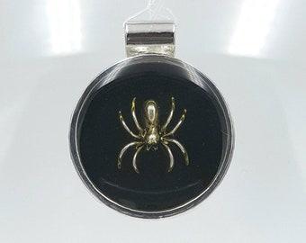 Black Widow II Spider Pendant