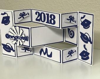 2018 Graduation Tri-Fold Card