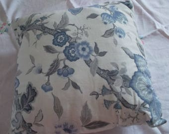 Pretty damask pillow