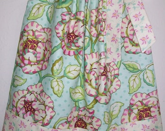 18m Pillowcase Dress Floral dress with Roses Heather Bailey Freshcut Spring dress with Flowers Summer Dresses Cabbage Roses Ready to Ship