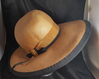 Mr John Classic Large Brim Straw Hat
