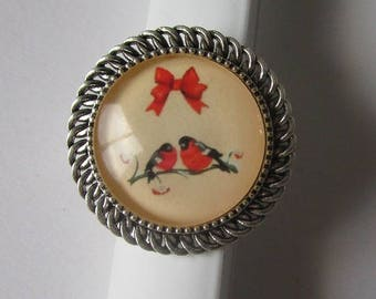 beautiful vintage bird ring