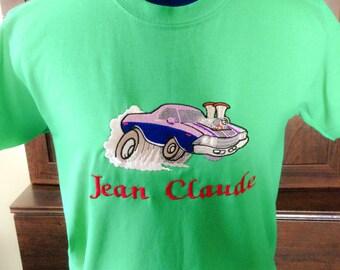 Hot rod tshirt, Boy's shirt, fundraiser tshirt,  tshirt, Personalized tshirt, custom tshirt