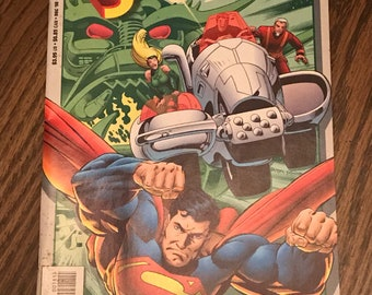 Superman comic book 3D 1998