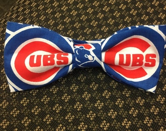 Chicago Cubs bow tie