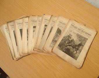 Old magazine Firesides cottages 105 numbers 45th year 1921 1922