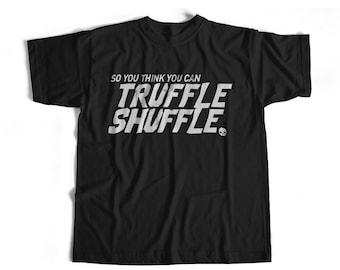 Goonies Truffle Shuffle Shirt T Brand New Vintage 80's Funny Movie Chunk Distressed T-Shirt