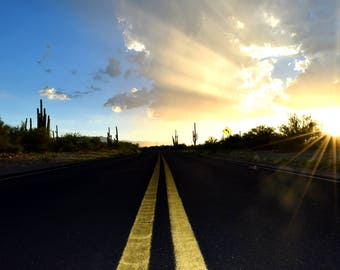 The Road Home - Photography Print or Notecard