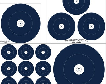 outdoor field / hunter round archery target, vinyl archery target
