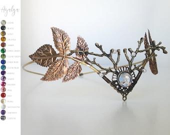 Woodland   tiara · elven tiara · branches tiara- statement jewelry - statement jewelry - tiara crown- woodland crown - circlet - tiara crown