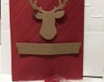 Deer Party Favor treat bags (12)