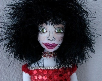 Angelina Spirit Art Doll  (Made by Request)
