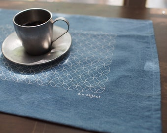 Tablecloth, Placemast, Denim Light Blue