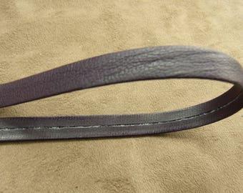 Leatherette Ribbon - 2 cm - purple