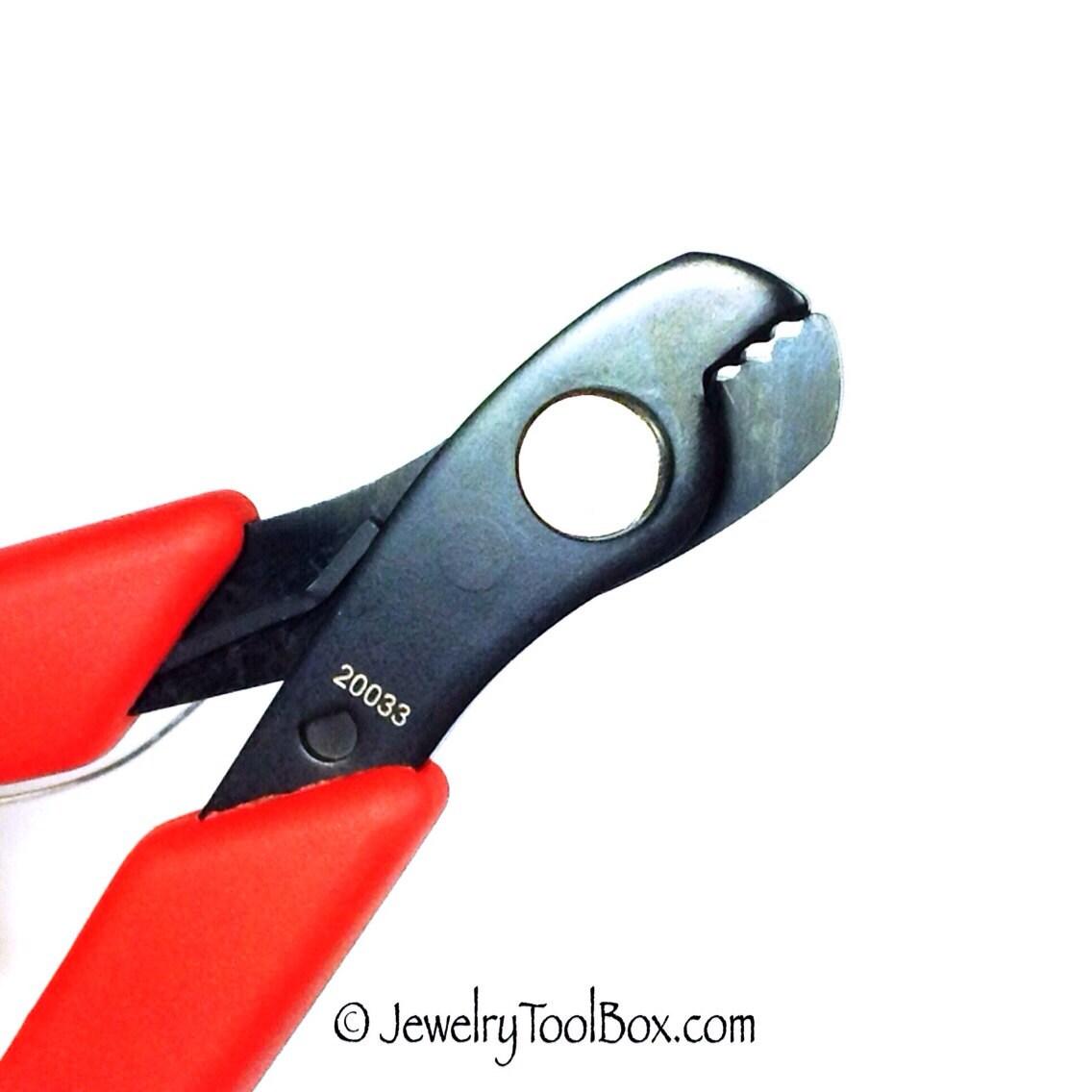 Memory Wire Cutter, Hard Wire Flush Cutter, Jewelry Making Pliers ...