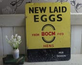 Rare Vintage Fresh Eggs S...