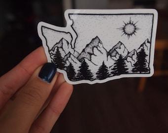 The Evergreen State Sticker