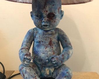 Creepy Doll Lamp