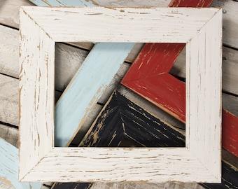 Aged Rustic Picture Frame, 8x10 Frame, 11x14 Frame, 16x20 Frame, Handmade Picture Frame, Rustic Home, Wedding Frame, Barnwood Frame, Emma