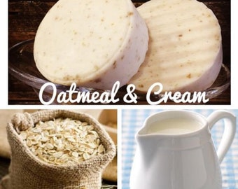Oatmeal & Cream ~ Face + Body Bars