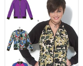 By McCall's M7100 jacket sewing pattern