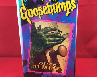Goosebumps: Stay Out of the Basement VHS