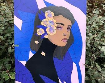 A4 Flower Series 2