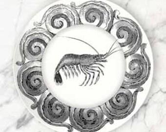 Shrimp I plate