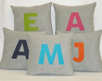 """Personalized/Monogramed Cushion Cover 18"""" x 18"""""""