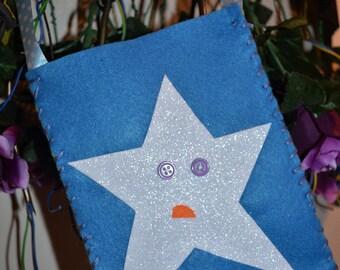 Sad Star Pocket Bag
