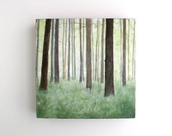 Forest Painting - 8 x 8