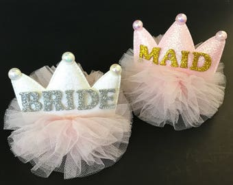 Bachelorette Crown Silver and Gold,Bachelorette Party BRIDE Crown,Bachelorette Party Hat, Bride to Be Crown,wedding shower crown,