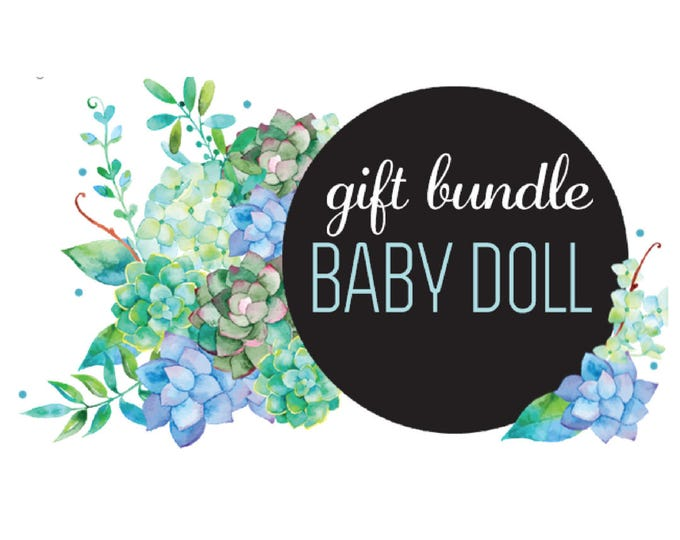 The 'Baby Doll' Earring Studs Gift Bundle